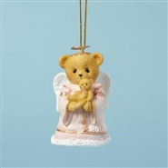 Hugs From Heaven Dated 2014 Bell Ornament