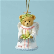 Bringing Good Tidings Of Great Joy Dated 2016 Bell Ornament