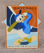 Swing For The Bleachers Plaque