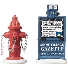 Fire Hydrant And Paper Box