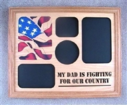 My Dad Is Fighting For Our Country Photo Frame