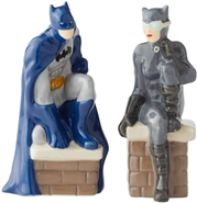 Batman and Catwoman Salt and Pepper