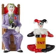 Joker and Harley Quinn Salt & Pepper