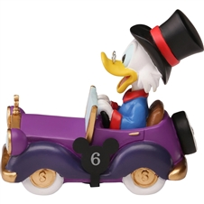 Disney Collectible Parade Scrooge McDuck Figurine