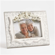 A Life Time Of Faith, Devotion And Love - 50th Anniversary Frame