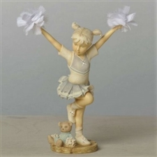 Foundations Cheerleader Figurine