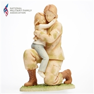 Foundations Service Woman Returning Home Figurine
