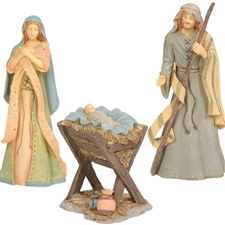 Holy Family Nativity, Set of 3