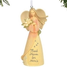 Thank Heaven for Mom's Ornament