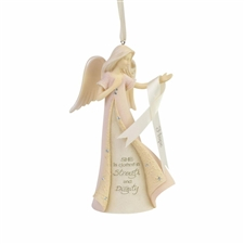 Breast Cancer Angel - Ornament