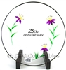 Fenton - 25th Anniversary Clear Glass Plate