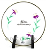 Fenton - 50th Anniversary Clear Art Glass Plate