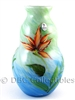 Fenton Art Glass Floral Vase
