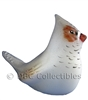 Fenton Opal Glass - Zebra Finch