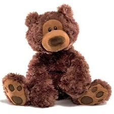 Philbin Chocolate Plush Teddy Bear 320046 | GUND