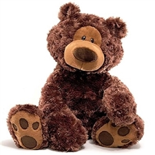 Philbin Chocolate Teddy Bear 320047 | GUND