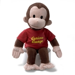 Curious George Red Shirt Stuffed Animal 320694 | GUND