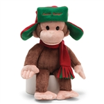 Curious George Fargo Hat Stuffed Animal 4043741 | DBC Collectibles