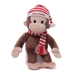 Curious George Striped Hat Stuffed Animal 4043206 | DBC Collectibles