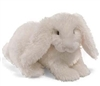 Hoppy Days Fluffer Bunnies - White
