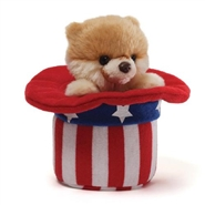 Itty Bitty Boo Red White And Blue - World's Cutest Dog