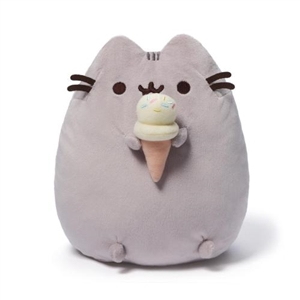 Pusheen With Ice Cream Cone