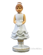 Growing Up Girls Brunette First Communion