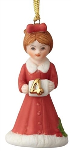 Brunette Age 4 Ornament