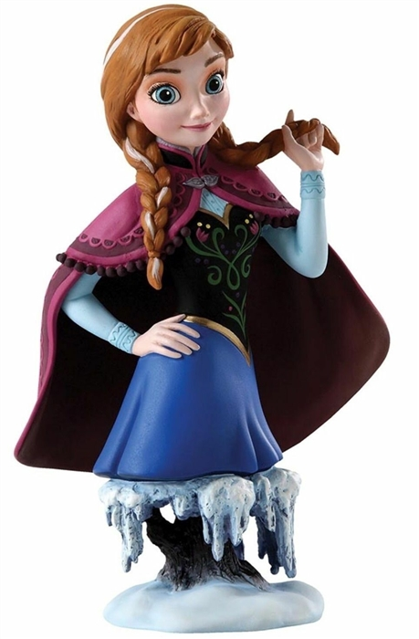 Grand Jester Studios - Bust Of Anna From Frozen