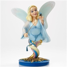 Grand Jester Studios - Blue Fairy With Jiminy Cricket - Limited Edition