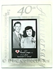 40th Anniversary Glass Picture Frame