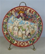 Sowing Joy Dated 2005 Plate