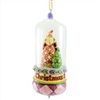 Christmas Day Is Finally Here Glass Dome Ornament