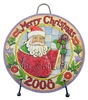 Season Merriment Dated 2008 Plate
