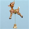 Rudolph Vintage Pull String Ornament