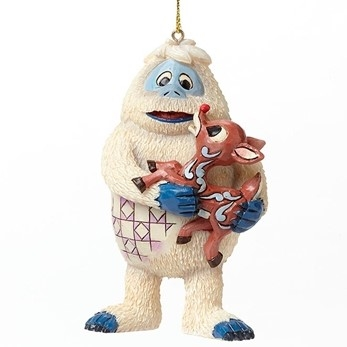 Bumble And Rudolph Ornament