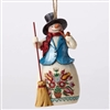 Wonderland Snowman Ornament