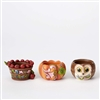 Harvest Candle Holders - Set Of 3