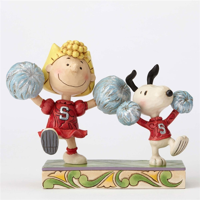 Sally And Snoopy - Spirit Squad
