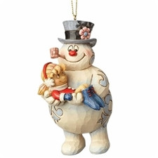 Frosty The Snowman And Karen - Ornament