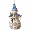 Woodland Snowman - Ornament
