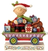 All Wrapped Up - Charlie Brown Christmas Train Car