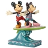 Surf's Up! - Minnie & Mickey Surfboard