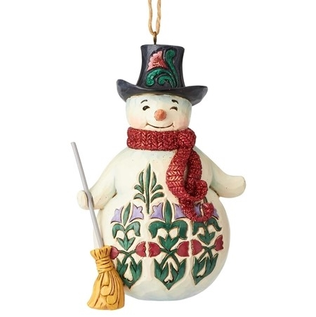 Winter Wonderland Snowman Christmas Ornament