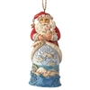 Coastal Santa - Ornament