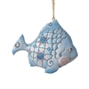Coastal Fish Christmas Ornament