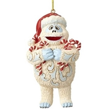Bumble Holding Candy Canes Christmas Ornament