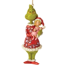 Grinch With Cindy Lou Christmas Ornament