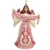 Hope Breast Cancer Awareness Christmas Ornament