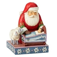 Even Kings Need Tucking In - Santa By Baby Jesus